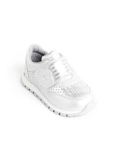 minipicco Minipicco Kız Cocuk Gümüş Ortopedik Destekli Çocuk Spor Ayakkabı Gümüş
